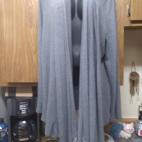 Cascading cardigan